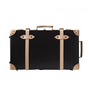 Globe Trotter Black with Brown Accents Travel Bag