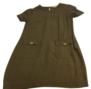 Michael Kors short dress olive green on Tradesy