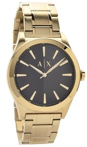 A|X Armani Exchange Armani Exchange Gold-Tone Stainless Steel Mens Watch AX2328