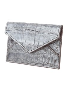 Judith Leiber Judith Leiber Crocodile Card Holder