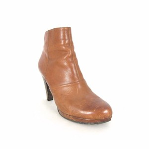 Paul Green Leather Ankle Classic Brown Boots