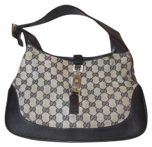 Gucci Jackie O Medium Jackie O Push Button Lock Great For Everyday Excellent Vintage Hobo Bag