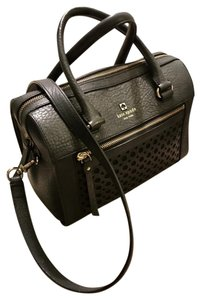 Kate Spade Perri Lane Delaney New York Satchel in Black