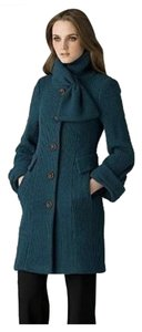 Nanette Lepore Wool Knit Kiss Me Sz 2 Pea Coat