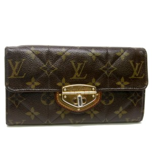 Louis Vuitton Louis Vuitton Signature GM Quilted LV Monogram Etoile Portefeiulle