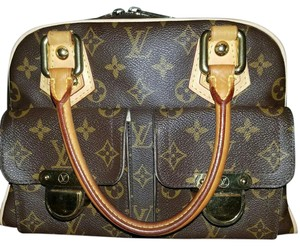 Louis Vuitton Lv Lv Lv Satchel in Monogram