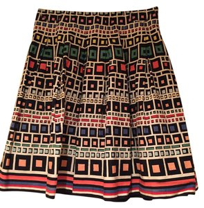 French Connection Colorful Skirt Multi Colored