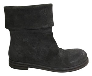 Marsèll Leather Ankleleather Charcoal Black Boots