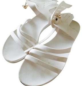 Ancient Greek Sandals white Sandals