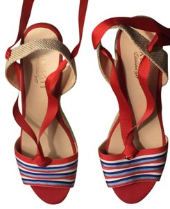 Talbots red multi Wedges
