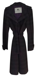 Burberry Wool Winter British Trench Coat