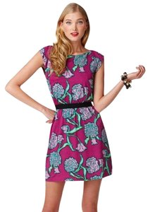 Lilly Pulitzer short dress Lilly Elastic Waist Flower Print on Tradesy