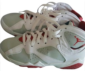Air Jordan Leather Stylish Retro White/red Athletic