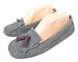 UGG Australia Suede Moccasin Mules