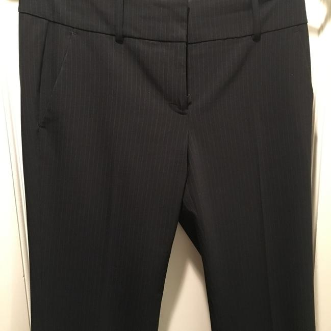Ann Taylor Straight Pants navy blue