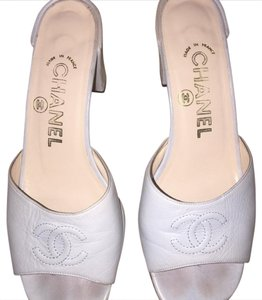 Chanel baby blue Sandals