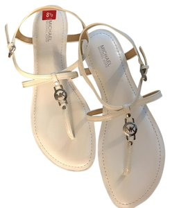 Michael Kors Optic White Sandals
