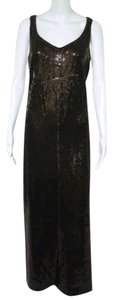 St. John Couture Brown Cocktail Dress
