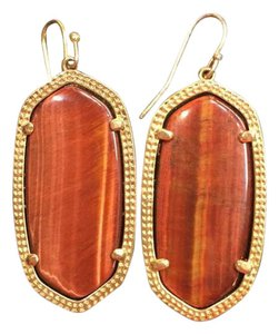 Kendra Scott Tiger's Eye Elle Earrings
