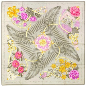 Herms Hermes Paris 90cm Silk Scarf