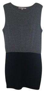 Rachel Roy short dress Grey and Black on Tradesy
