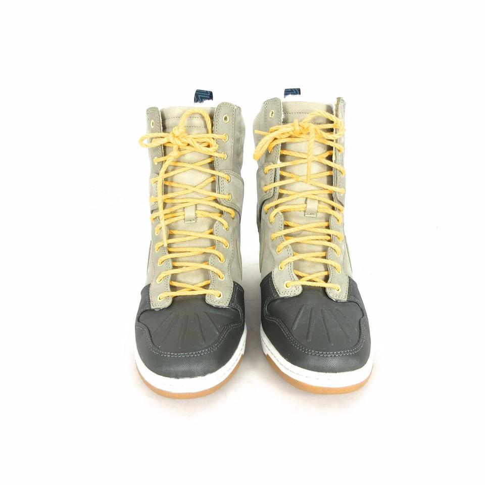 low priced 966b2 51fd6 ... amazon nike brown gray dunk sky hi sneakerboot 2.0 fur lined winter  boots b7bc5 a274c