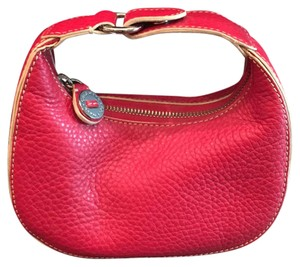 Cole Haan red Clutch