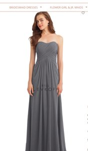 Bill Levkoff Pewter 1120 Dress
