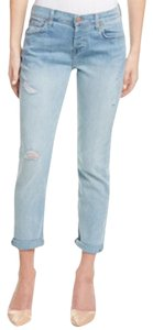 7 For All Mankind Boyfriend Cut Jeans-Light Wash