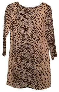 J.Crew short dress leopard on Tradesy
