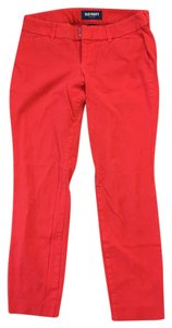 Old Navy Capris red coral