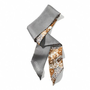 Coach Coach Floral Ponytail Scarf. Perfect for Valentine's Day!