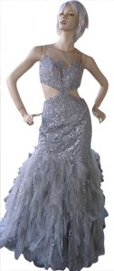 Jovani Prom Evening Illusion Bling Tulle Dress