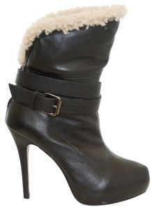 Report Signature Fur Fur Lined Black Boots
