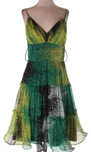 Other short dress green yellow on Tradesy