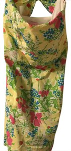 Lilly Pulitzer short dress Multi Strapless Summer Floral Bright Preppy on Tradesy