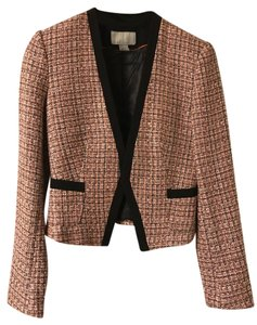 H&M Preppy Tweed Multi Blazer