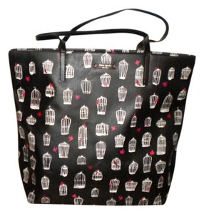 Kate Spade Tote in BLACK, RED, WHITE AND PINK