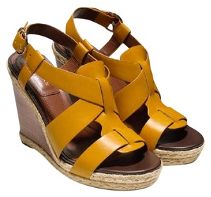 Cole Haan Yellow Wedges