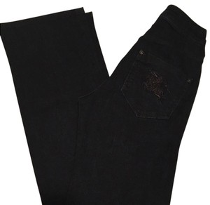 Burberry Brit Boot Cut Jeans-Dark Rinse