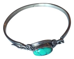 Other Turquoise Stone & Sterling Silver Bracelet