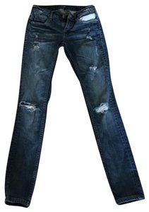 Vigoss Straight Leg Jeans-Distressed