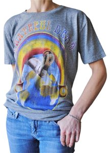 Chaser Grateful Dead Concert Vintage T Shirt Heather Grey