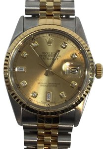 Rolex Oyster Perpetual Two-tone Datejust