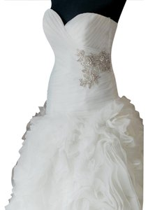 Allure Bridals Allure Bridals 8950 Ivory/silver - Size 8 Wedding Dress