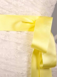 Baby Mais Yellow Ribbon Sash