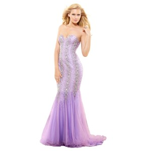 Terani Couture Glitter Bling Prom Mermaid Dress