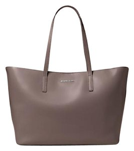 Michael Kors Leather Imported Tote in Cinder