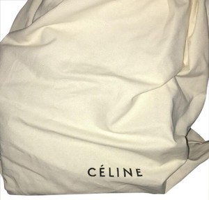 Céline Tote in Black, Green, Cream