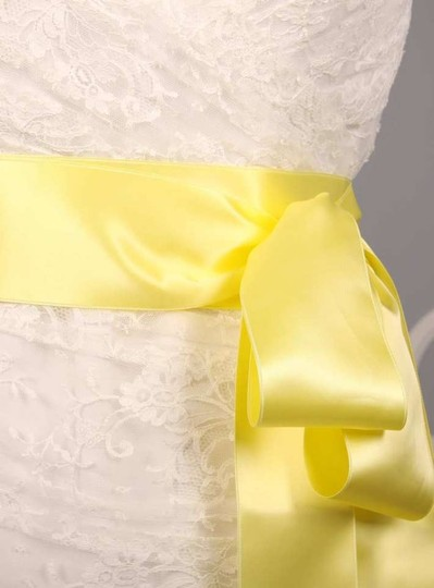 Baby Mais Yellow Ribbon Sash Sashes